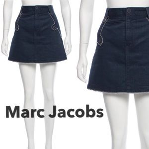 Marc Jacobs Woven Mini Skirt
